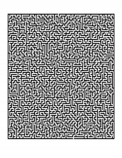 It is a photo of Luscious Printable Mazes Pdf